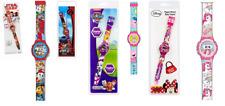 Disney Armbanduhr Uhr Kinder Silikon Armband  Kinderuhr