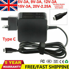 More details for 45w usb-c charger adapter for apple ipad pro 2020 macbook air power supply cord