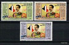 IRAQ SADDAM HUSSEIN Head Of Baath Party 1983 SC# 1134 - 1136  MNH