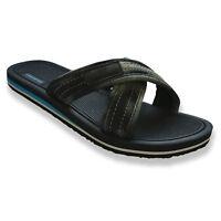 Mens Comfortable Canvas Slides Summer Outdoor Beach Sandals Indoor Home Slippers