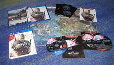 The Witcher 3 pour ps4 et carte et bande sonore extra CD, etc. allemand TOP