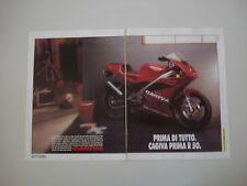 advertising Pubblicità 1993 MOTO CAGIVA PRIMA R 50