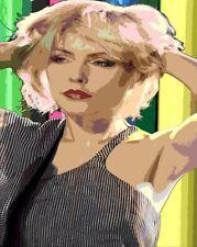 Popart Poster  BLONDIE Debbie Harry 3  Art Print