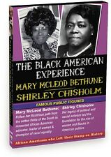 The Black American Experience: Famous Public Figures - Mary McLeod Bethune (DVD)