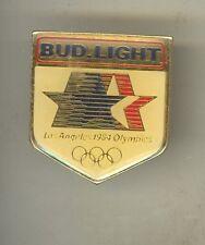 1984 LOS ANGELES SUMMER OLYMPICS Lapel Pin BUD LIGHT Olympic BEER Sponsor