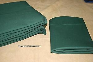 50/50 Percale Conventional Sheet set - Dorm sheets XL TWIN sheet set