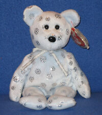 TY FLAKY the BEAR BEANIE BABY - MINT with MINT TAGS