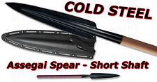 "Cold Steel 36"" Assegai Spear Short With Secure EX Sheath 95FS"