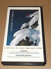License To Thirll A MUSICAL SKI FILM FROM GREG STUMP vhs video skiing