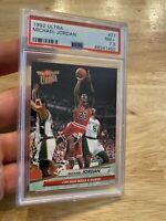 Michael Jordan PSA 7.5 Fleer Ultra Card 1992 #27 Chicago Bulls INVEST Last Dance