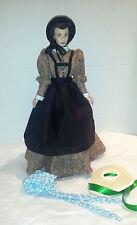 GWTW Mauve Desperation Dress Set Hand Made for Scarlett Franklin Mint or Tonner