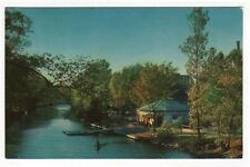East Lansing Michigan, Early View of The Canoe Shelter on Red Cedar River