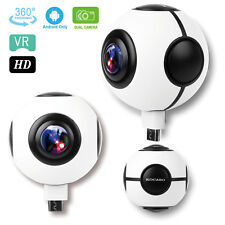 KOCASO® 720° HD VR Camera Sport Video Recorder Fisheye Lens Panorama for Android