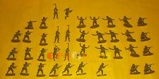 38 Soldatini Seconda Guerra Mondiale (Americani - Tedeschi) Toy Soldiers