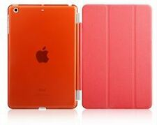 Apple iPad Mini 1 2 3 RED Color Slim Auto Sleep Smart Cover Case + Free Gift