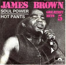 7inch JAMES BROWN soul power HOLLAND 1971 EX  (S1623)