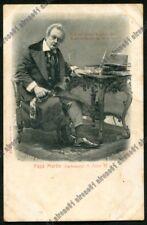 PAPÀ MARTIN 02 ANTONIO CAGNONI CARBONETTI OPERA LIRICA PAVIA ALTEROCCA (1903 ?)