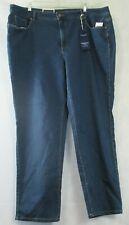 Charter Club Women's Plus Size Lexington Straight Leg Jeans, Blue, 24W