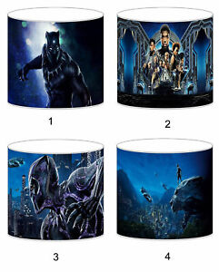 Black Panther Superhero Childrens Lampshades Ceiling Light Table Lamp Bedding