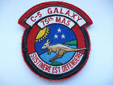 75 M.A.S. SQUADRON C5 GALAXY FLYING SUIT PATCH.