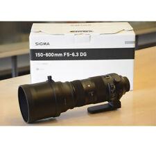 Sigma 150-600mm F5-6.3 DG OS HSM Sports Canon Mount BNIB