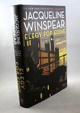 ELEGY FOR EDDIE - Jacqueline Winspear - 1st Edition 1st Printing - 2012 - HC