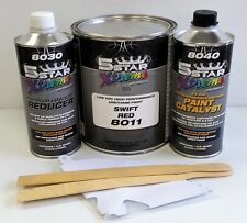 5 Star Low VOC high performance SWIFT RED urethane auto paint single stage CAR
