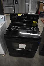 "Whirlpool Wfe515S0Eb 30"" Black Free-Standing Electric Range Nob #39306 Cln"