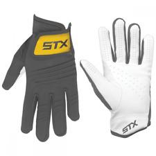 Stx Breeze Women's Lacrosse Gloves Graphite Size Sml Gy/Xx Dk New