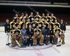 1970-71 BOSTON BRUINS 8X10 TEAM PHOTO