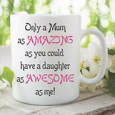 Mum Tazas Increíble Daughter Cumpleaños Regalo Novedad Divertida de té WSDMUG882