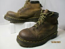 Dr. Martins Leather Brown Boots UK 7, USA Men's 8, USA Women's 9