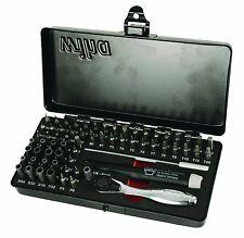 Wiha 75965 Precision Micro Bit, Ratchet w/Steel Storage Box, 65-Piece