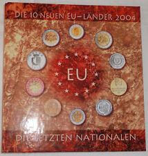 ALBUM mit KMS - 10 neue EU-LÄNDER 2004 - Estland LETTLAND Litauen MALTA Polen
