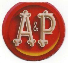 Vintage A&P Supermarket Die Cut Advertising Sewing Needle Book