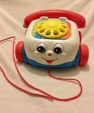 2000 Mattel Fisher Price Chatter Telephone With Moving Eyes Toy Story