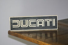 DUCATI Vintage Shabby Chic Wooden Sign Old Look Italian Motor Cycle Retro