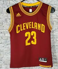 LeBron James Cleveland Cavaliers #23 Adidas Boys Basketball Jersey Youth Small