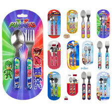 Cutlery Set Children Toddlers Boys Girls Famous Kids Movie Characters To Choose