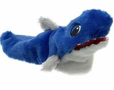 Toddler/Child Size L 9-10 Furry Shark Slippers, New