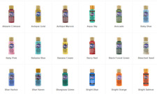 Americana Acrylic Paint 2 oz Squeeze Bottles Various Colors! New! Price Per