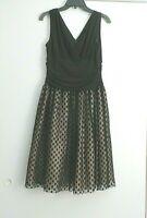 JESSICA HOWARD BLACK PARTY DRESS SIZE 12P EUC