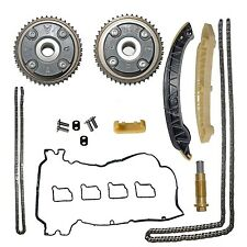 VVT Camshaft Gears & Timing Chain Kit & Gasket Fit Mercedes-Benz C180 M271 1.8L