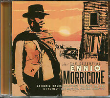THE ESSENTIAL ENNIO MORRICONE CD, A FIST FULL OF DOLLARS, THE MISSION & MORE