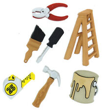 Do It Yourself Ladder Paint Tools Novelty Buttons Jesse James Theme Pack