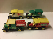 Readers Digest Collector's Lot of 4 cars - Transport, 1912 Tanker, Ambulance