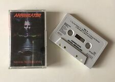 ORIGINAL CASSETTE EDITION MC K7 ANNIHILATOR NEVER NEVERLAND 1990 ROADRUNNER
