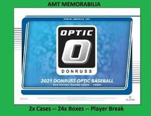 Shohei Ohtani Angels 2021 Panini Donruss Optic 2X Case 24X BOX BREAK #6