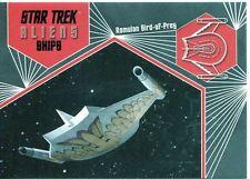 Star Trek Aliens Chase Alien Ships S04 Romulan Bird of Prey