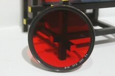 52 mm screw in original B+W Red 090 filter for Yashica, Nikon D40
